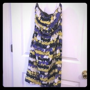 The Limited strapless dress size 2